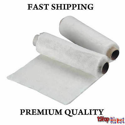 1 X 450mm x 1m Motorcycle Exhaust Can Silencer Packing Wadding Sheet 10MM THICK