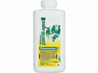 1000 ml Safe-Guard Dewormer Suspension for Beef & Dairy Cattle & Goats