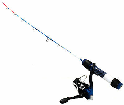 "Ht 24"" Ice Blues Light Action Ice Fishing Rod & Reel Combo Fast Tip Ib-24Sc"