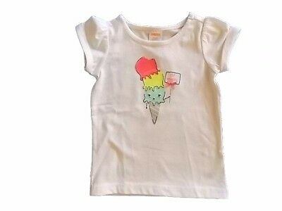 NWT Girl's Gymboree Ice Cream Parlor short sleeve shirt ~ 6 12 18 24 months