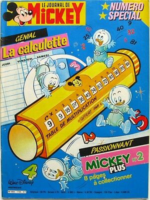 Le journal de Mickey n°1735 du 29 septembre 1985 - Mickeyrama Station Columbus