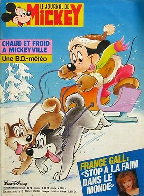 Le journal de Mickey n°1749 du 31 décembre 1985 - Paris Dakar -