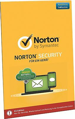 Norton Security 2019 Standard - 1 Gerät / PC / Mac - 1 Jahr - Vollversion