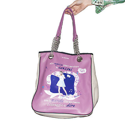 Le Pandorine shopper borsa Disney Violetta color glicine