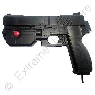 Ultimarc AimTrak Black Arcade Recoil Light Gun with Line of Sight Aiming LCD CRT