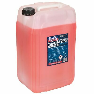 Sealey Concentrated TFR Traffic Film Remover Premium Detergent/Wax 25ltr- SCS002