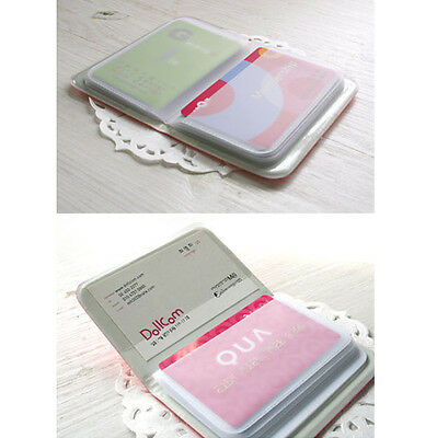 1X Cute Bowknot Business ID Credit Card Pocket Bag Wallet Holder Case Box