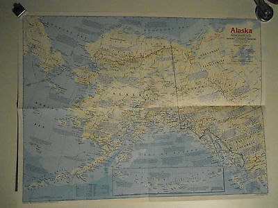Lot of Maps of Alaska 1956 - 1984 with extras
