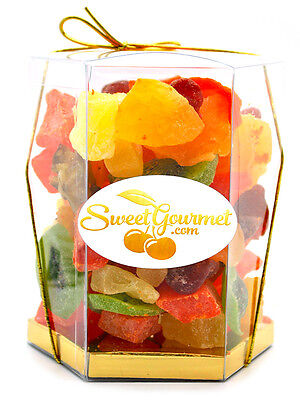 SweetGourmet Tropical Fruit Salad (dried fruits) - 1Lb GIFT BOX - FREE SHIPPING!