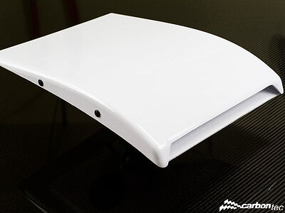 Air roof vent white glossy air not carbon air roof scoop not TRS