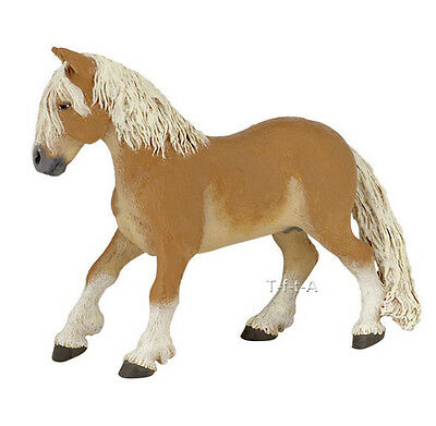 FREE SHIPPING   Papo 51118 Haflinger Pony Horse Play Figurine - New in Package