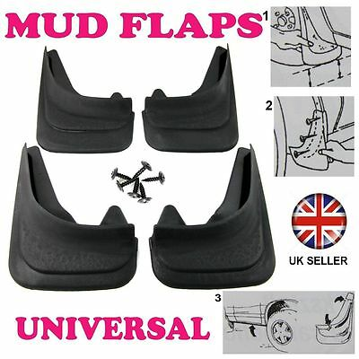 Front/Rear Rubber Moulded MUDFLAPS 4x Mud Flaps Universal Fit For DACIA