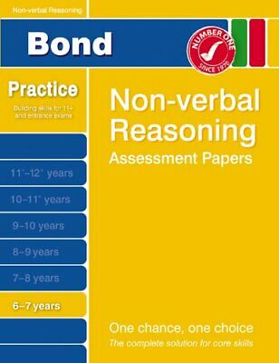 Bond Starter Papers in Non-verbal Reasoning: 6-7... by Alison Primrose Paperback
