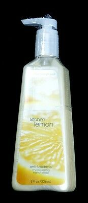 BATH&BODY WORKS 'Kitchen Lemon' Anti-Bacterial Moisturizing Soap 236 ml USA