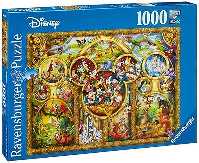 Ravensburger The Best Disney Themes Jigsaw Puzzle (1000 Pieces) STYLE A