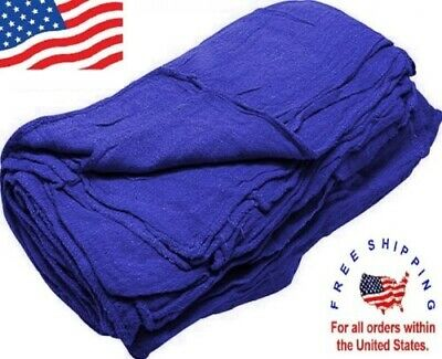 500 new great american textile mechanics shop rags towels indigo jumbo 13x14