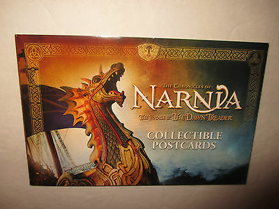 The Chronicles of NARNIA The Voyage of the Dawn Trader POSTCARDS set New