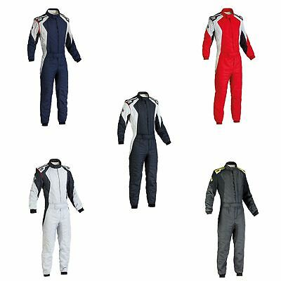 OMP First Evo FIA Approved 2 Layer Race / Rally Suit