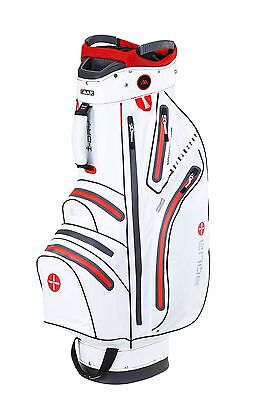 Big Max Cartbag - Aqua Sport - wasserdicht - white/red,  Neu!