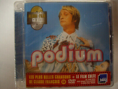 CD NEUF scellé - PODIUM (Claude François) / CD + DVD du film (zone 2) -C56