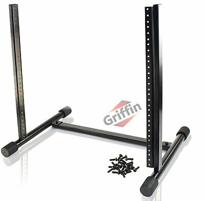10U Space Rack Mount Hardware Studio Equipment Mixer Case Stand Cabinet Griffin