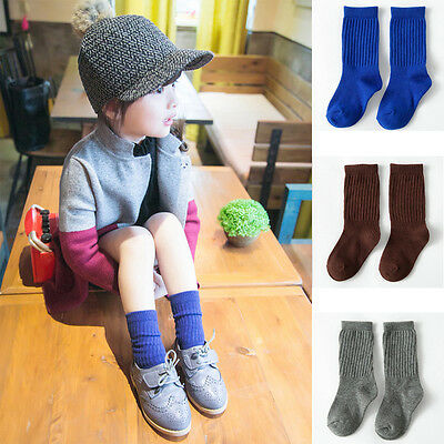Cartoon Korean Style Toddlers Kids Girls Socks For Age 4-10 Years Colorful Hot