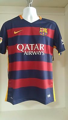 Nike Barcelona 2015/2016 youth Home soccer jersey