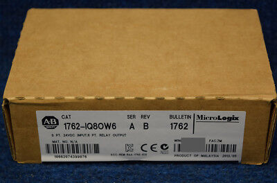 New Sealed Allen Bradley 1762-IQ8OW6 /A 1762IQ8OW6 MFG:2015