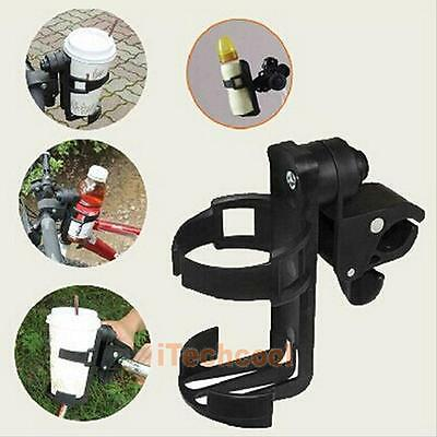 Baby Kid Stroller Pram Bicycle Carriage Cart Accessory Bottle Cup Holder Plastic