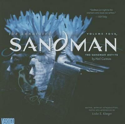 Annotated Sandman by Leslie Klinger (English) Free Shipping!