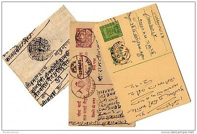 India Collection of 4 Postal Stationery Items  X240