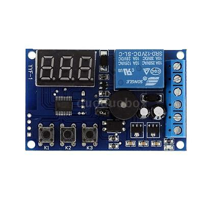 Charging Discharge Voltage Monitor Test Relay Switch Control Module Alarm E0O9