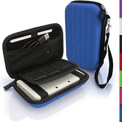 Blue EVA Hard Carry Case Cover for New Nintendo 3DS Travel Sleeve Bag Pouch