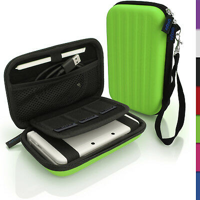Green EVA Hard Carry Case Cover for New Nintendo 3DS Travel Sleeve Bag Pouch