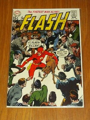 Flash #195 Fn (6.0) Dc Comics March 1970