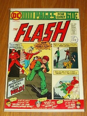 Flash #229 Vf (8.0) Dc Comics October 1974 100 Pages<