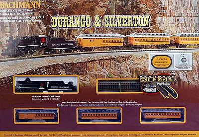 Bachmann N Scale Train Set Analog Durango & Silverton 24020