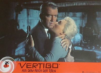 VERTIGO - Lobby Cards Set - Alfred Hitchcock, James Stewart, Kim Novak