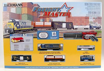 Bachmann N Scale Train Set Analog Freightmaster 24022