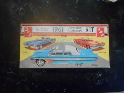 ORIGINAL AMT (BOX ONLY)  3 IN 1 '61 CHEVY CONVERTIBLE CUSTOMIZING Kit
