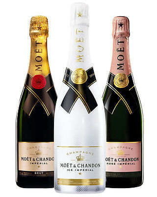Moet & Chandon Champagne 750ml Triple Pack