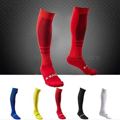 Men's Baseball Socks Soccer Football Basketball Sport Over Knee High Sock A Pair