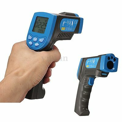 Digital LCD IR Infrared Thermometer Non-Contact Gun Pointer Light Temperature