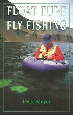 MEYER ANGLING BOOK FLOAT TUBE FLY FISHING TROUT paperback BARGAIN new