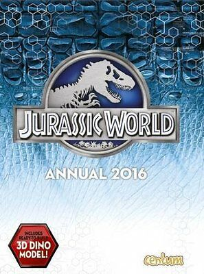 Official Jurassic World Movie Annual 2016  by Centum Books Ltd New Hardback Book