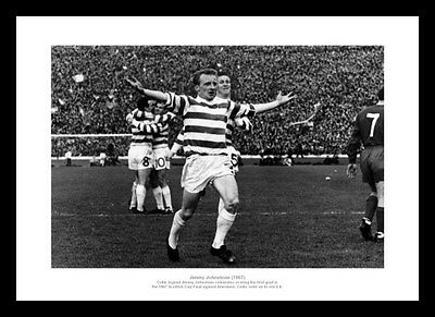 Celtic Legends - Jimmy Johnstone 1967 Photo Memorabilia (466)