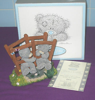 New Boxed & Certificate Me To You Limited Edition Figurine Bridge To Your Heart