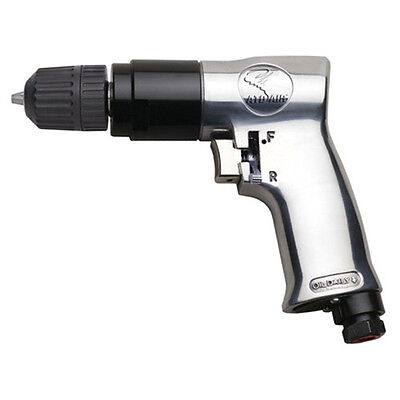 "ATD 3/8"" Reversible Air Drill With Keyless Chuck - 2143"