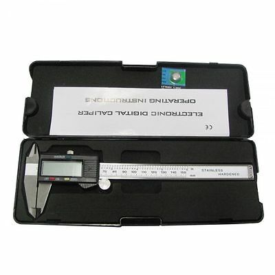 6Inch / 150mm Stainless Steel Electronic LCD Digital Vernier Caliper Micrometer