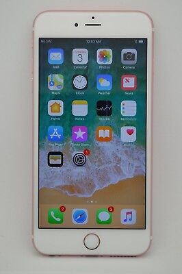 Apple iPhone 6S PLUS 128GB ROSE GOLD GSM UNLOCKED AT&T TMOBILE METRO PCS CRICKET